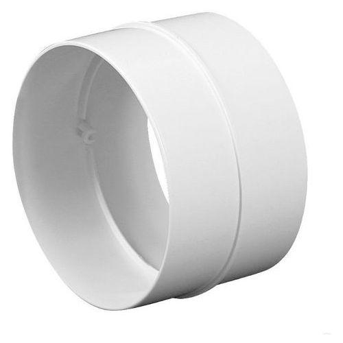 Łącznik nypel kanału wentylacyjnego okrągłego abs ko125-21 - dn 125 marki Awenta