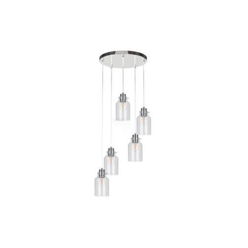 ALESSANDRO 1760528 LAMPA WISZĄCA SPOT LIGHT Nowoczesne oświetlenie, kolor chrom/transparentny