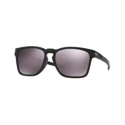 Okulary Słoneczne Oakley OO9358 LATCH SQUARED Asian Fit Polarized 935806, kolor żółty