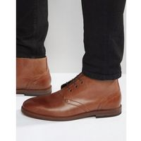 houghton leather chukka boots - brown marki H by hudson