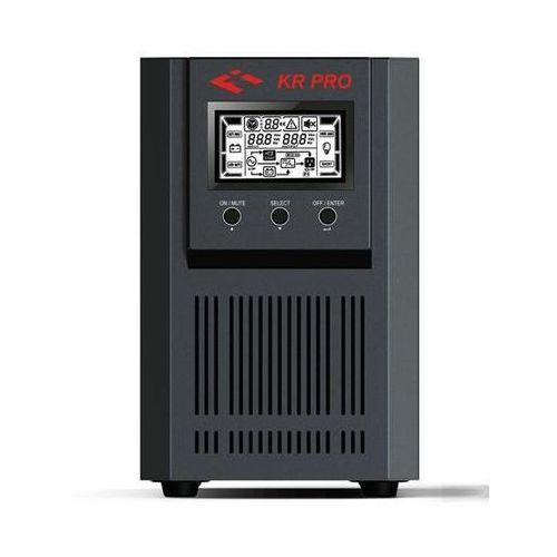 Zasilacz awaryjny UPS Fideltronik-Inigo Lupus On-line PRO IEC 1000VA/800W, KR1000 PRO IEC