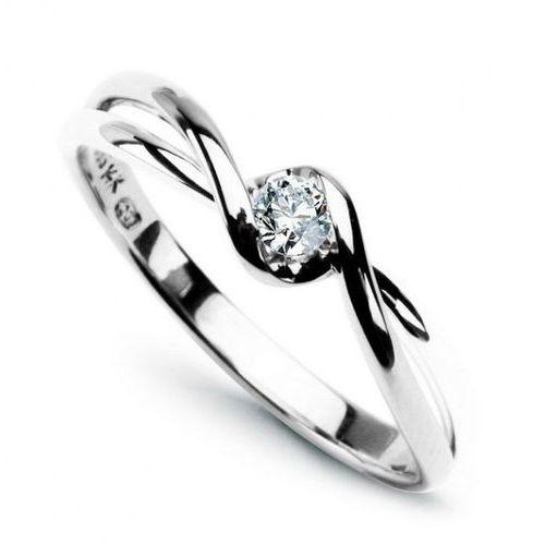 Złoty pierścionek PBD1410 - Diament