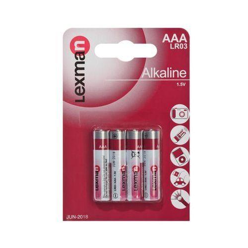 Lexman Baterie alkaliczne lr03 / aaa