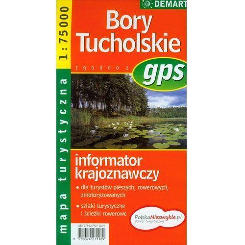 Bory Tucholskie. Mapa turystyczna, Demart - OKAZJE