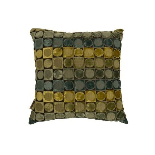 Dutchbone poduszka ottava zielona/niebieska 8600016 (8718548022034)