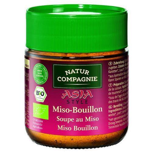 Bulion warzywny miso w proszku bio 100 g - natur compagnie marki Natur compagnie (buliony, kostki rosołowe)