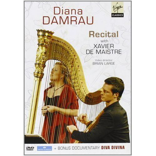 RECITAL AT BADEN-BADEN, DOCUMENTARY. DIVA DIVINA. - Diana Damrau (Płyta DVD) (5099998491698)