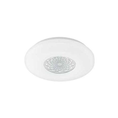 Plafon capasso 1 96025 lampa sufitowa 1x18w led biały / chrom marki Eglo