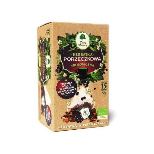 DARY NATURY 15x3g Herbata porzeczkowa Piramidki BIO