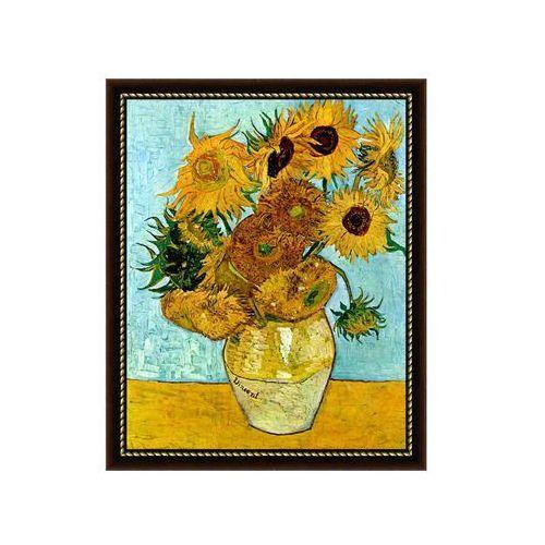 Obraz słoneczniki vincent van gogh 55,2 x 75,2 cm marki Nielsen