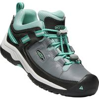 dziecięce buty trekkingowe targhee low wp blue steel grey/wasabi us 2 (34 eu) marki Keen