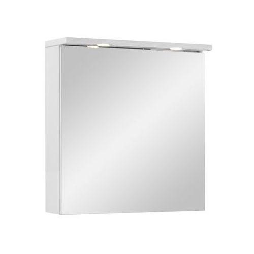 Astor Szafka lustrzana z oświetleniem biała