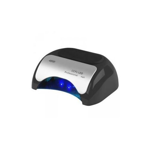Vanity_a Lampa professional 2w1 uv led+ccfl 48w timer+sensor czarna (5906717409806)