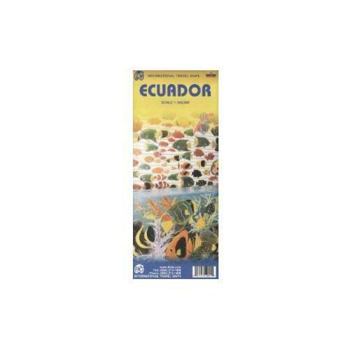 Ekwador mapa 1:660 000 ITMB (9781553412007)