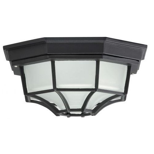 Plafon zewnętrzny lampa sufitowa Rabalux Milano 1x100W E27 IP43 czarny 8346, 8346