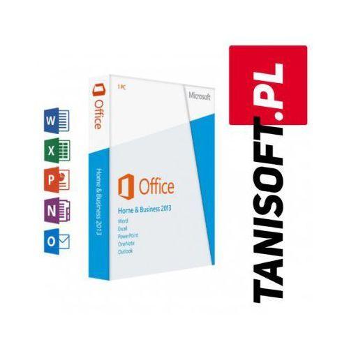 Office 2013 dla użytkowników domowych i firm win polska wersja językowa! marki Microsoft
