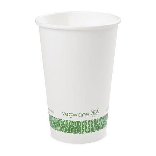 Kompostowalne kubki białe Vegware 455ml / 16oz (Opakowanie 1000 sztuk)