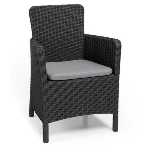 krzesło ogrodowe trenton grafit 226453 marki Allibert