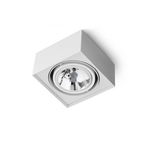 Aqform Squares mini 111x1 phase-control natynkowy biały 40110-0000-t8-ph-03