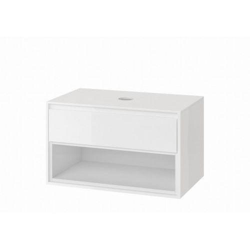 EXCELLENT TUTO Szafka podumywalkowa 80, biała MLEX.0102.800.WHWH, kolor biały