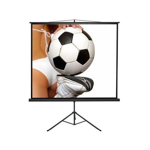Ekran projekcyjny manualny econo tripod 24/24 mw bf marki Kauber