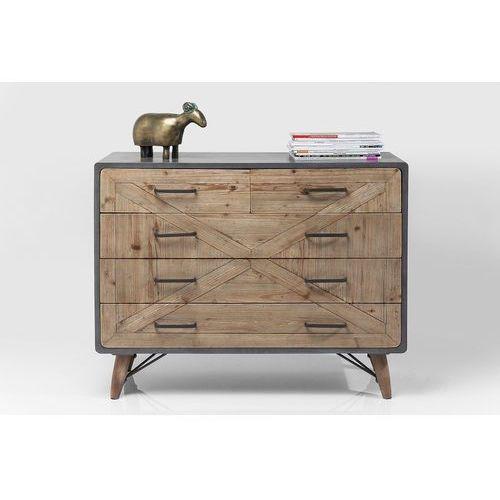 :: komoda x factory 5 szuflad - wzór 3 marki Kare design