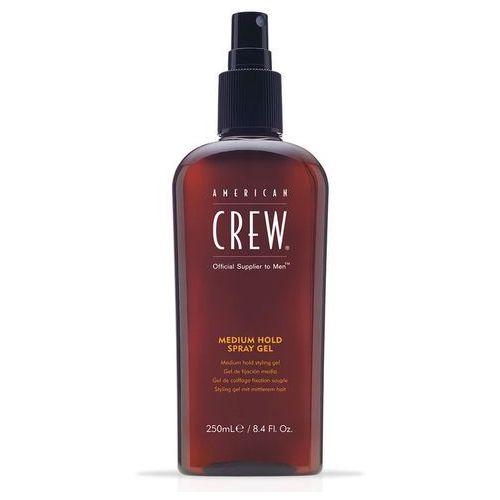 American Crew Medium Hold Spray Gel   Żel średnio utrwalający ułatwiający modelowanie w czasie suszenia 250ml
