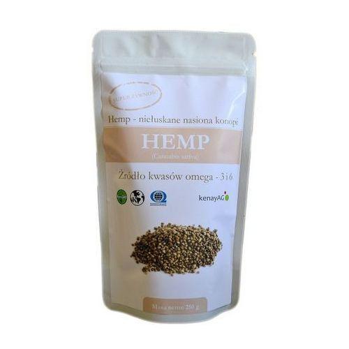 Hemp organiczne niełuskane nasiona konopi 250g - produkt z kategorii- Zdrowa żywność