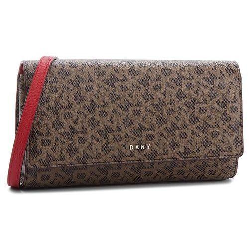Torebka DKNY - Bryant Wallet On String R835J622 Mocha Logo/Rog M68