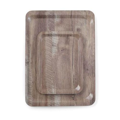 Hendi Taca do serwowania laminowana nadrukiem drewna 240x350 - kod Product ID