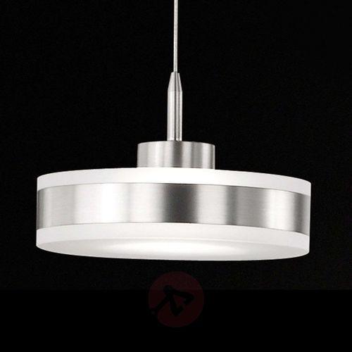 Honsel Puk Lampa wisząca LED Nikiel matowy, 1-punktowy - Nowoczesny - Obszar wewnętrzny - Puk - Czas dostawy: od 4-8 dni roboczych
