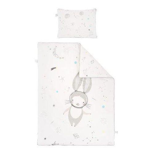 Pościel (poszewki)  królik - biały (135x100+40x60) marki Samiboo