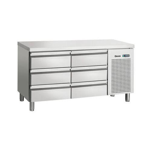 Stół chłodzony obiegiem powietrza 2-drzwiowy | 0°c - 10°c | 350w | 230v | 1342x700x(h)850mm marki Bartscher