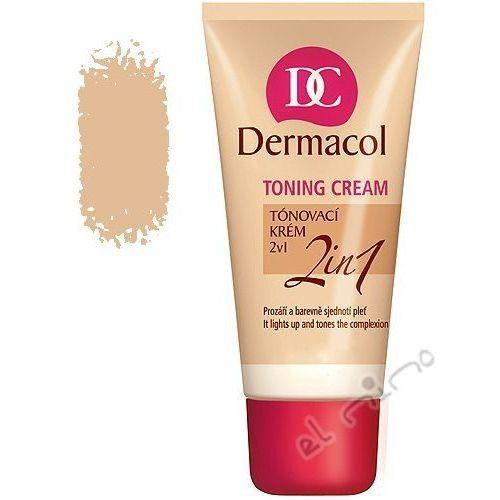 Dermacol Toning Cream 2in1-natural 30ml W Podkład Wszystkie typy skóry