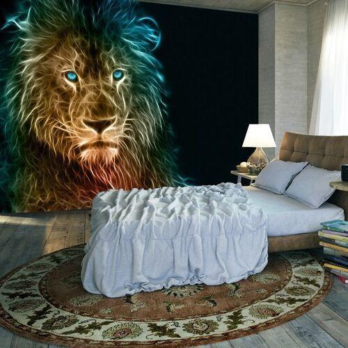 Fototapeta - abstrakcyjny lew
