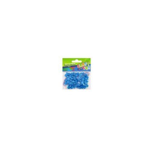 Ozdoba dekoracyjna - Koraliki niebieskie - EURO-TRADE