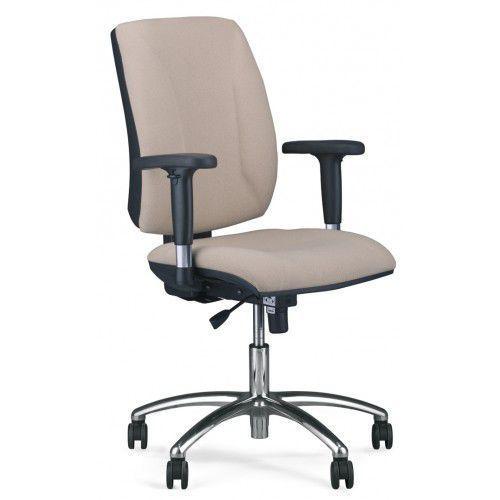 Krzesło obrotowe quatro r2c steel04 chrome - biurowe, fotel biurowy, obrotowy marki Nowy styl