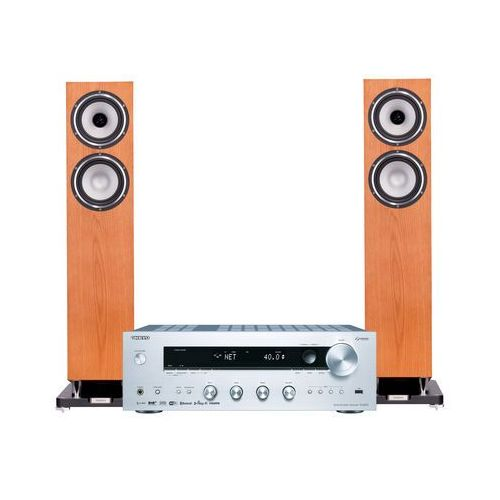 Zestaw stereo tx-8270s + tannoy revolution xt 6 f dąb marki Onkyo