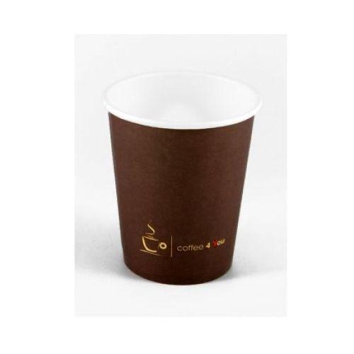 Kubek papierowy 150ml z nadrukiem COFFEE 4 YOU