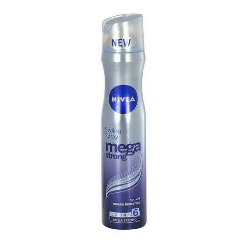 Nivea mega strong lakier do włosów bardzo mocno utrwalający (styling spray) 250 ml