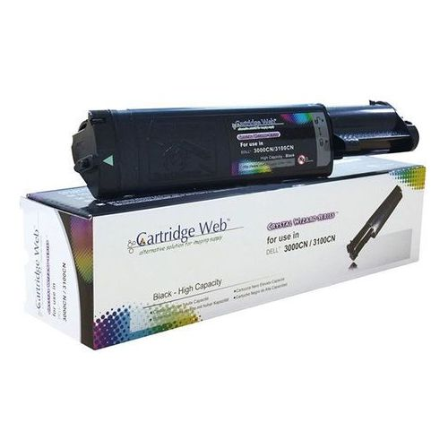 Toner CW-D3000BN Black do drukarek Dell (Zamiennik Dell 593-10067 / K4973) [4k]
