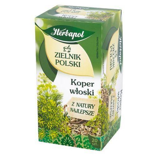 20x2g zielnik polski koper włoski herbatka ziołowa marki Herbapol