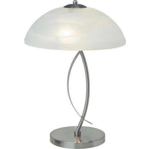 Lampa stołowa Boston Brilliant 12848/13, E14, 2 x 40 W, 230 V, (SxW) 32 cm x 45 cm, żelazowy, biały (4004353174292)