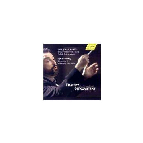 Shostakovich D / Stravinsky I - Shostakovich: Prelude & Scherzo Op (4010276017073)