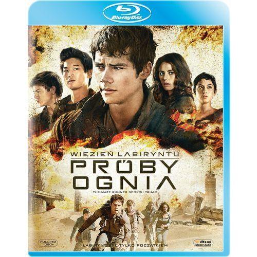 Więzień labiryntu: Próby ognia (Blu-ray)