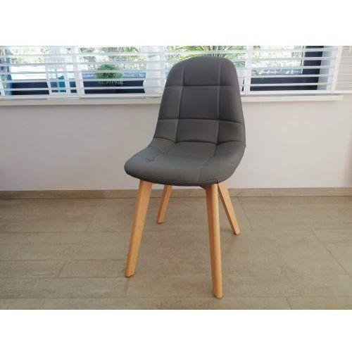 Nowoczesne krzesło big 021 szare ekoskóra dostawa 0zł marki Big meble