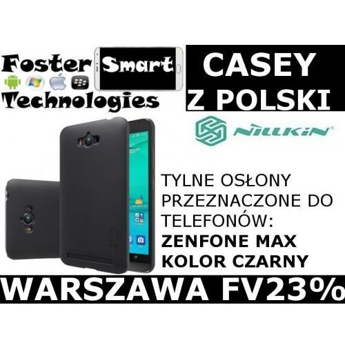 Nillkin CASE ZENFONE MAX PLECKI BLACK zPL FV23%, E662-172AB