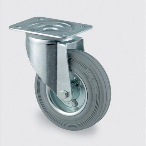 Tente Koła przemysłowe z maksymalnym obciążeniem 70-205 kg, szara guma (4031582303421)