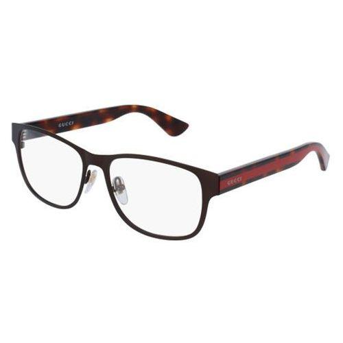 Gucci Okulary korekcyjne gg0007o 004