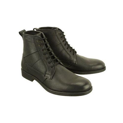 u74y7c jaylon 00046 c9999 black, trzewiki męskie marki Geox